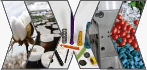 Indústria Têxtil x Materiais Plásticos